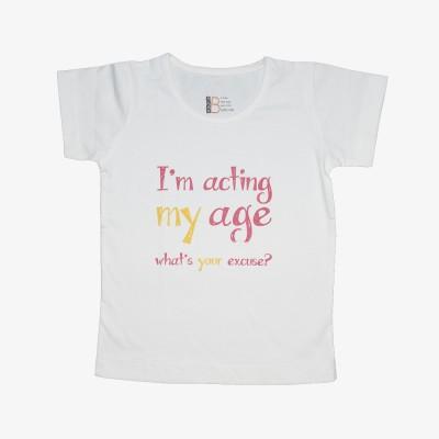 You Got Plan B Printed Boy,s, Girl's Round Neck T-Shirt