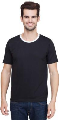 KindT Solid Men's Round Neck T-Shirt