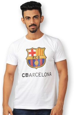 FC Barcelona Printed Men's Round Neck T-Shirt