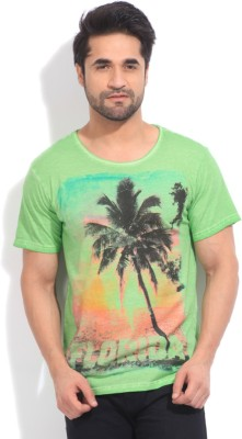 Indicode Printed Men's Round Neck T-Shirt