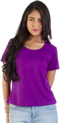 Vea Kupia Solid Women's Round Neck T-Shirt