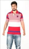 Prateek Retail Printed Men's Polo Neck R...