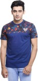 Superman Printed Men's Round Neck Blue, ...