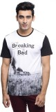 BREAKING BAD Printed Men's Round Neck Wh...