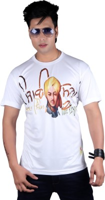 JP Punjabi Graphic Print Men's Round Neck T-Shirt