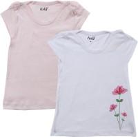 Lula Girls Printed T Shirt(Pink)