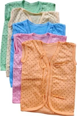 Mahadhi Printed Baby Boy's Henley Multicolor T-Shirt