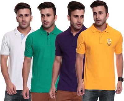 TSG Breeze Solid Men's Polo Multicolor T-Shirt