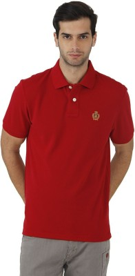 Fahrenheit Solid Men's Polo Neck T-Shirt