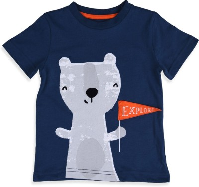 Mothercare Printed Boy's Round Neck T-Shirt