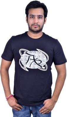 Argon Printed Men's Round Neck T-Shirt