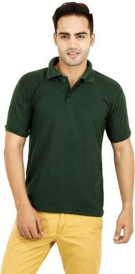 Vinson Solid Men's Polo Neck T-Shirt