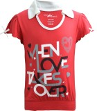 Blueriver Girls Graphic Print (Red)