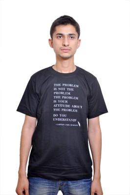 flirky Printed Men's Round Neck T-Shirt