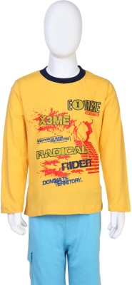 Toons Printed Boy,s Round Neck T-Shirt