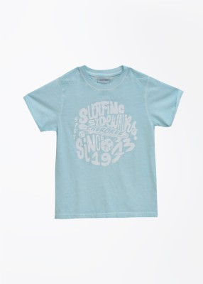 Cherokee Kids T- shirt For Boys(Light Blue)