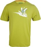 Wildcraft Printed Men's Round Neck Green...