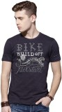 Roadster Printed Men's Round Neck Multic...