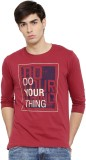 Cult Fiction Printed Men's Round Neck Ma...