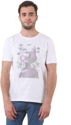 Purys Printed Men,s Round Neck T-Shirt