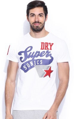 Superdry Printed Men's Round Neck T-Shirt