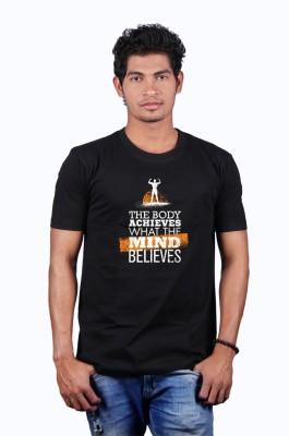Heritage Design Printed Men's Round Neck T-Shirt