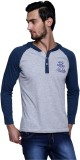 Era of Attitude Solid Men's Hooded Blue ...