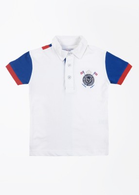 Status Quo Cubs Solid Boy's Polo T-Shirt
