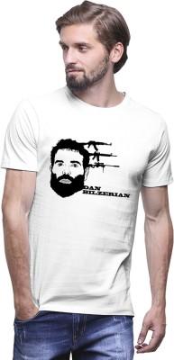 UPTOWN18 Graphic Print Men,s Round Neck Black T-Shirt