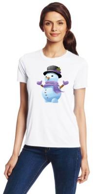 Shoper Shop Printed Women's Round Neck T-Shirt
