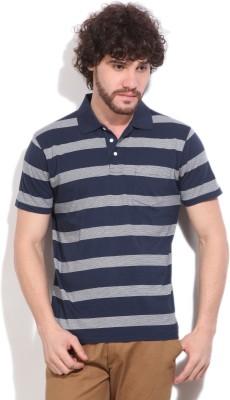 Gant Striped Men's Blue T-Shirt