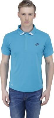 Lotto Solid Men's Polo Neck Multicolor T-Shirt