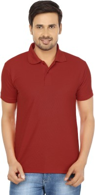 Forever19 Solid Men's Polo Neck T-Shirt
