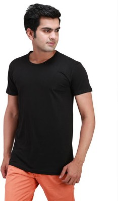 Waiverson Solid Men's Round Neck T-Shirt