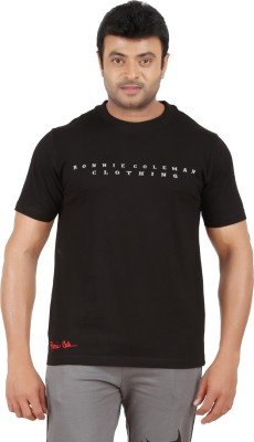 Ronnie Coleman Clothing Printed Men's Round Neck Black T-Shirt