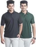 Laconic Solid Men's Polo Neck Multicolor...