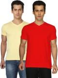 Joke Tees Solid Men's V-neck T-Shirt (Pa...