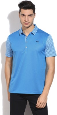 Puma Self Design Men's Polo T-Shirt