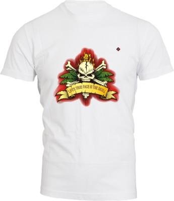 Brandpd Graphic Print Men's Round Neck T-Shirt