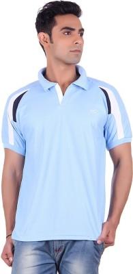 EX10 Solid Men,s Polo Neck T-Shirt