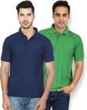 Ansh Fashion Wear Solid Men's Polo Neck ...