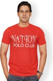 Nation Polo Club Solid Men's Round Neck ...