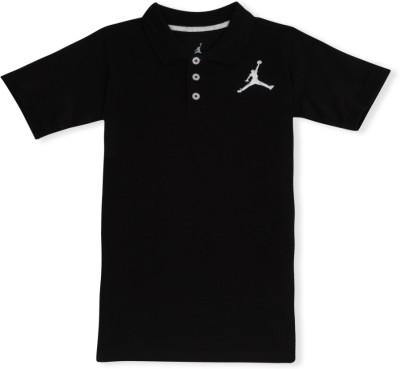 Jordan Kids Solid Boy's Polo T-Shirt