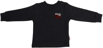 SPARK Solid Boy's Round Neck T-Shirt
