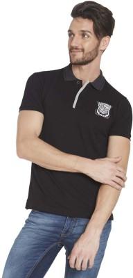 Globus Solid Men's Polo Black T-Shirt