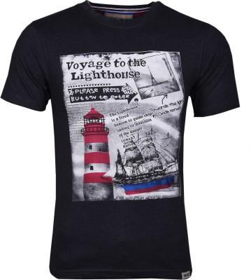 Wali Printed Men's Round Neck T-Shirt