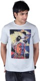 Lluminati Graphic Print Men's Round Neck...