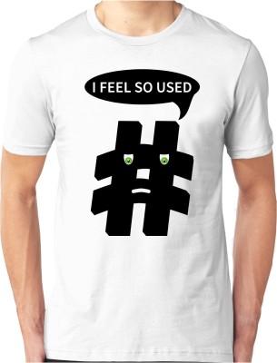 Foscous Printed Men's Round Neck T-Shirt