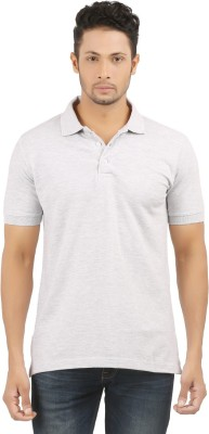 SUNNY Solid Men's Polo Grey T-Shirt