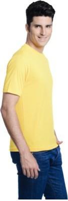 AI Solid Boy's Round Neck T-Shirt